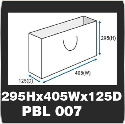 PBL 007 (295H x 405W x 125D)