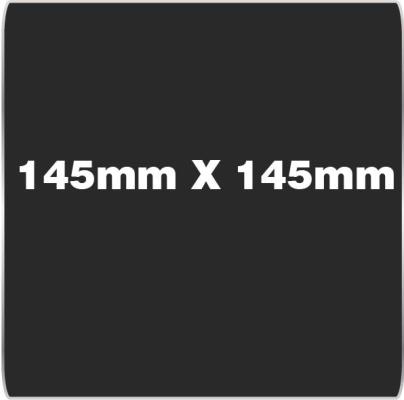 145mm x 145mm