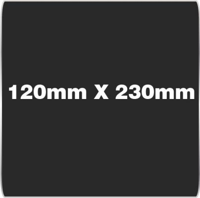 120mm x 230mm