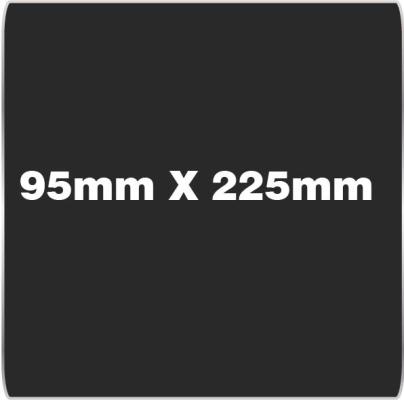 95mm x 225mm