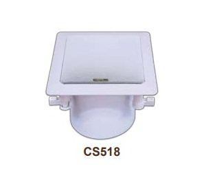 Amperes CS518 SQUARE CO-AXIAL CEILING SPEAKER