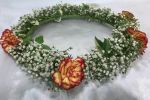 Head bridal (HBB-007) Bridal Flower Headband Corsage
