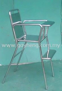 Stainless Steel Babychair with fixed front panel �ֱ���������(�̶�ǰ���)