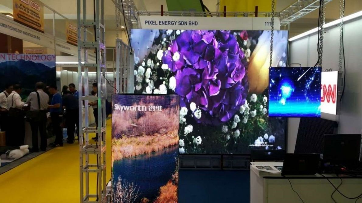 27~30 JULY 2017 - Participated the Led Screen Exhibition at PWTC