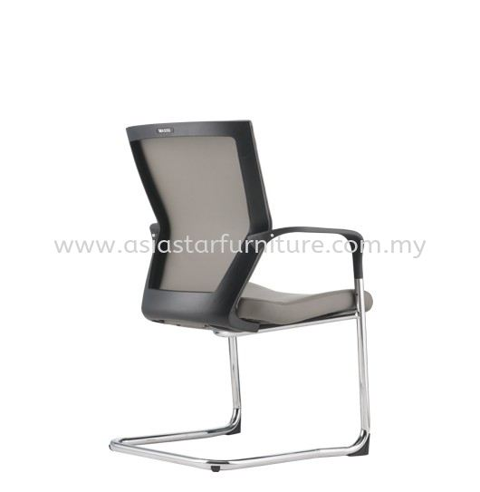 MAXIM VISITOR MESH BACK CHAIR C/W CHROME CANTILEVER BASE AMX 8113P
