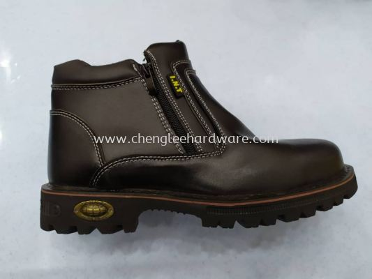 014151 INT-610  MID CUT ZIP SAFETY SHOES
