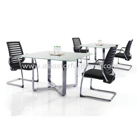 CASSIA CHROME DISCUSSION TABLE (CHROME)