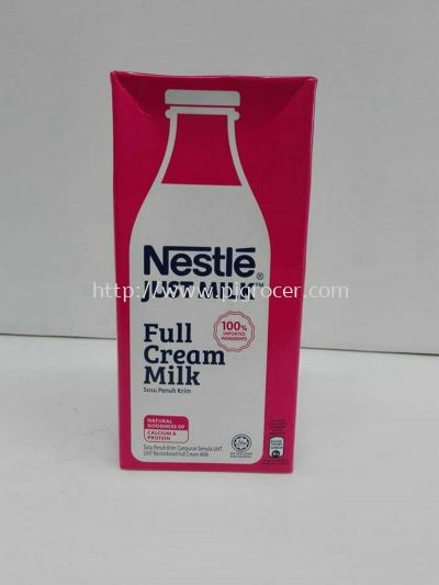 Nestle Full Cream Milk 1l