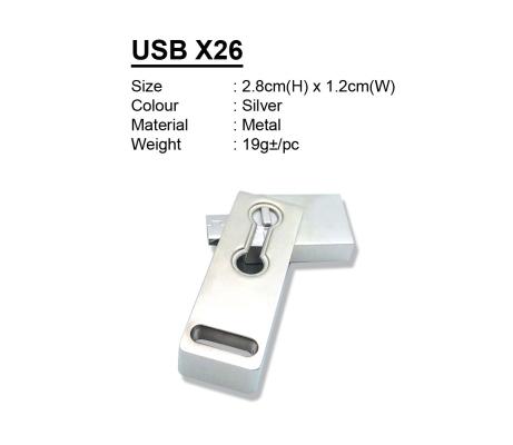 USB X26