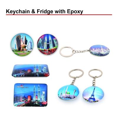 Keychain & Fridge with Epoxy