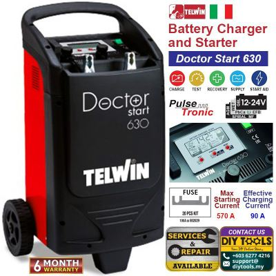 TELWIN Battery Charger and Starter �C Doctor Start 630