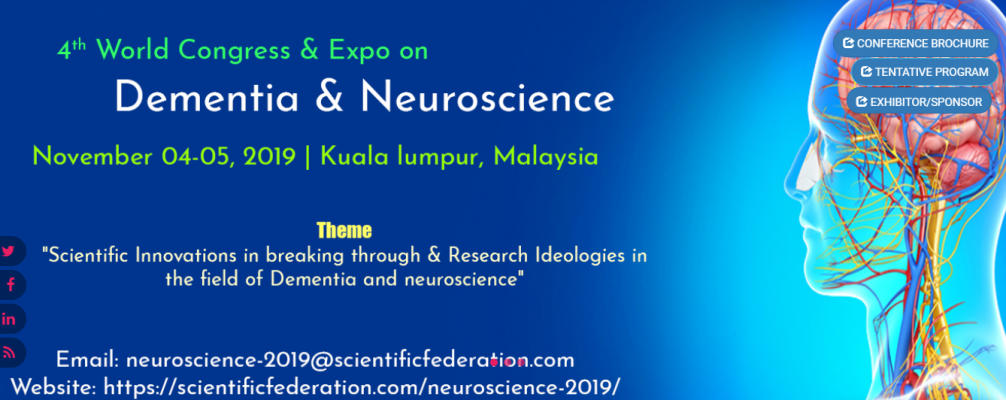 4th World Congress & Expo on Dementia & Neuroscience