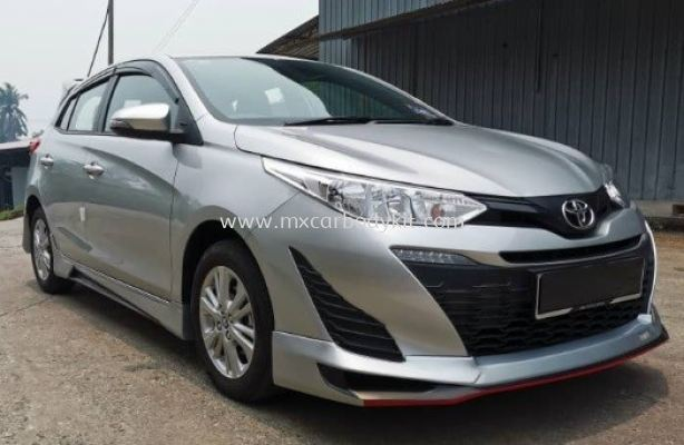 TOYOTA YARIS 2019 NEW D68 BODYKIT WITH SPOILER