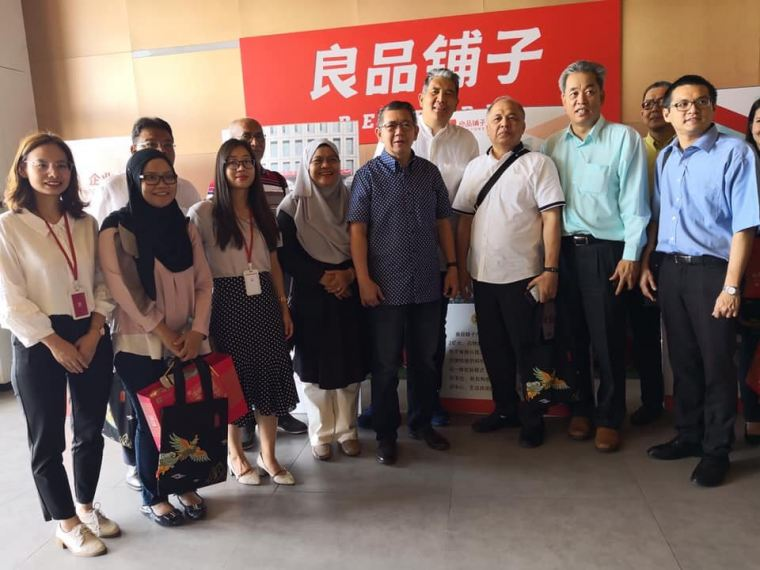 Malaysia Minister of Agriculture Dato' Salahuddin Ayub visited the headquarters of Bestore