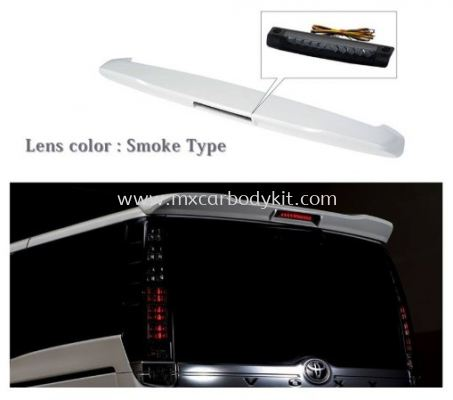 TOYOTA NOAH 2018 VOXY80 SPOILER WITH LED