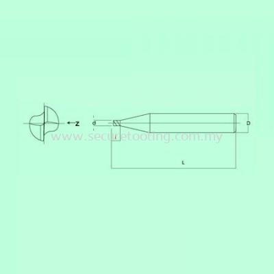S.A.P S2006 MINITURE SQUARE TYPE �C 2 Flutes