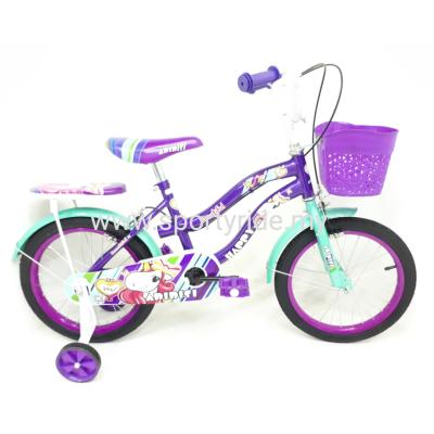 "16"" Girl Bike Happy"