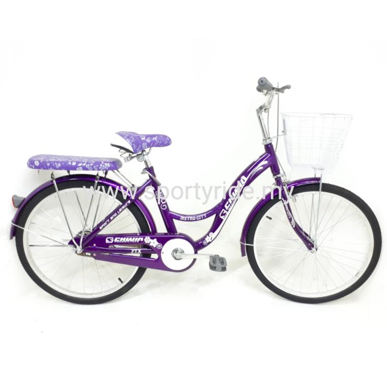 "24"" City Bike Metro 24 inch City Bike Leisure Ride Bike"
