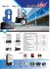 Max 25 AC Sliding Motor Three Phase For Sliding Gate Auto Gate System