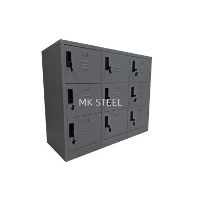 HALF HEIGHT 9 COMPARTMENT LOCKER