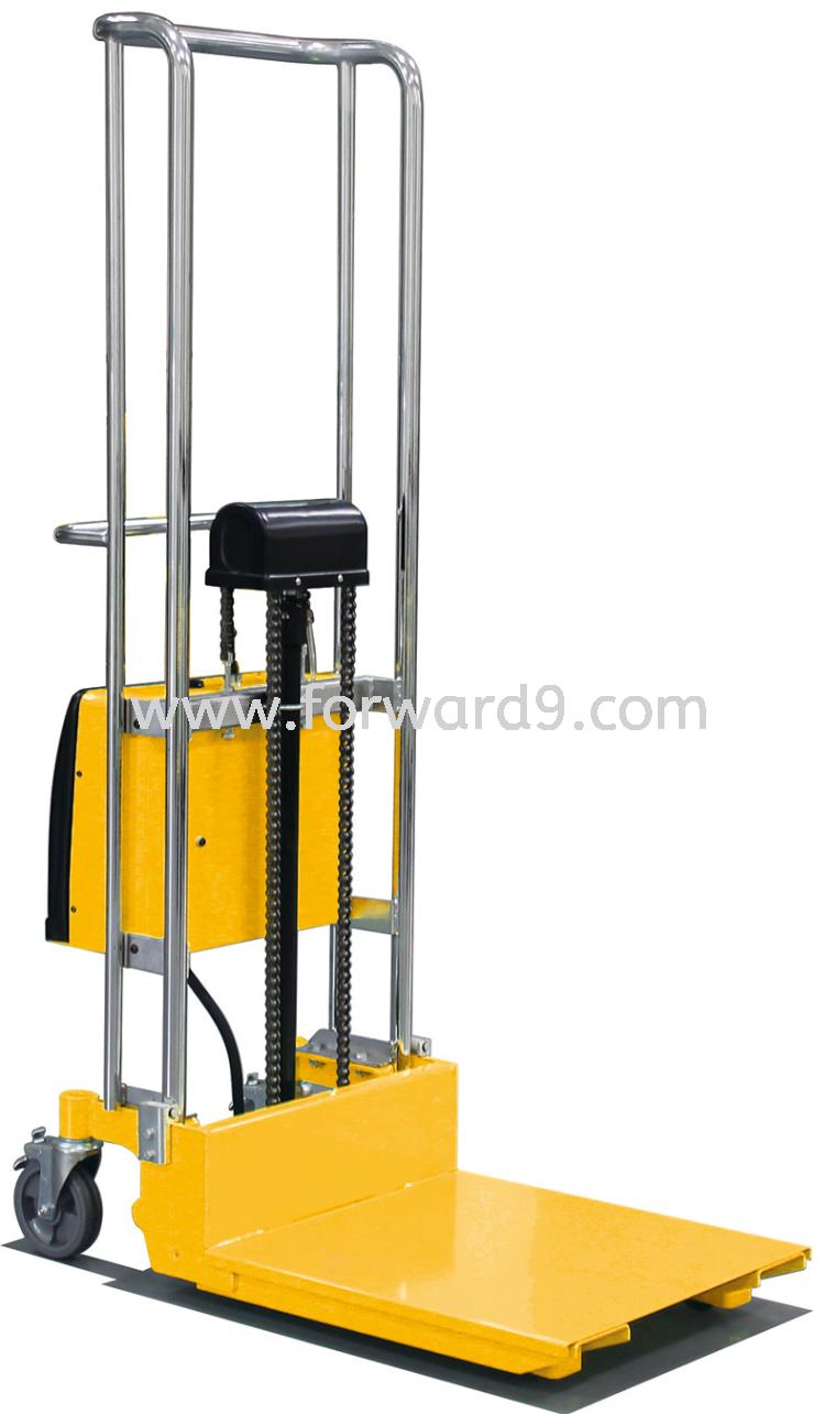 SES-Q 0415 Semi Elctric Platform Stacker  Semi Electric Stacker  Electric Stacker  Material Handling Equipment