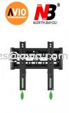 "NB North Bayou NBC1-F 17"" - 37"" Fixed Flat Panel Display Mount Bracket BRACKET"