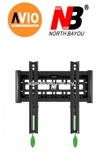 "NB North Bayou NBC1-F 17"" - 37"" Fixed Flat Panel Display Mount Bracket"