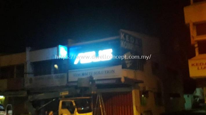 3d led conceal signage