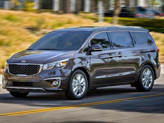 KIA CARNIVAL / SEDONA 15Y-ABOVE = INJECTION DOOR VISOR WITH STAINLESS STEEL LINING