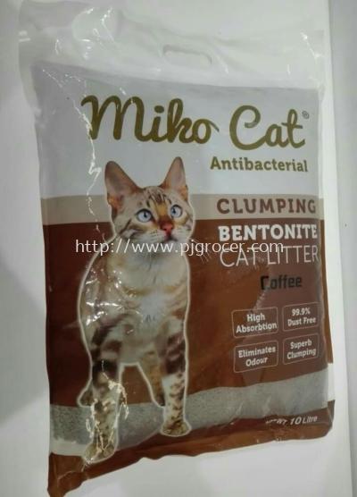 Miko Cat Clumping Bentonite Cat Litter 10L