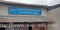 Wei Yap Powder Coating & Construction Polycarbonate Signage Normal Signboard