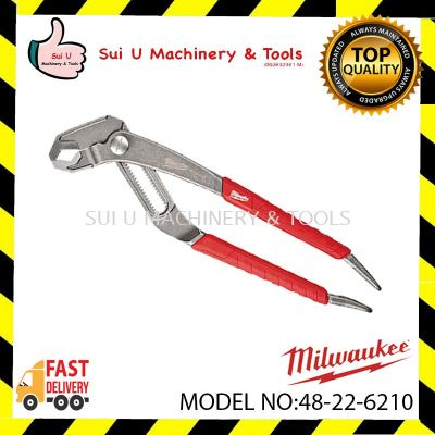 "Milwaukee 48-22-6210 254mm 10"" Comfort Grip Hex-Jaw Pliers"