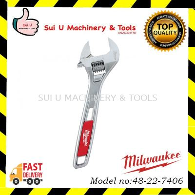 "MILWAUKEE 48-22-7406 6"" ADJUSTABLE WRENCH"