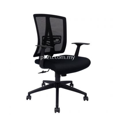 MESH 43 - Mid Back Mesh Chair (L1-BCMC-43-M)