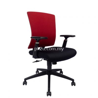 MESH 43 - Mid Back Mesh Chair (L1-BCMC-43-M-AA)