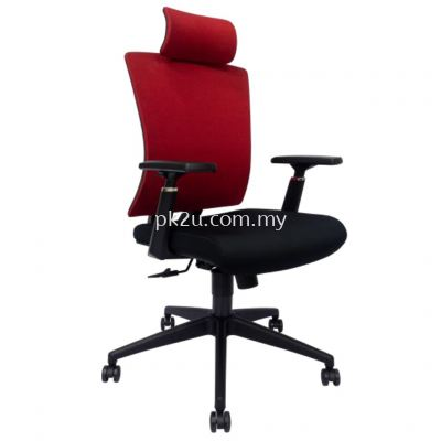 PK-BCMC-43-H-AA-L1-Mesh 43 High Back Mesh Chair
