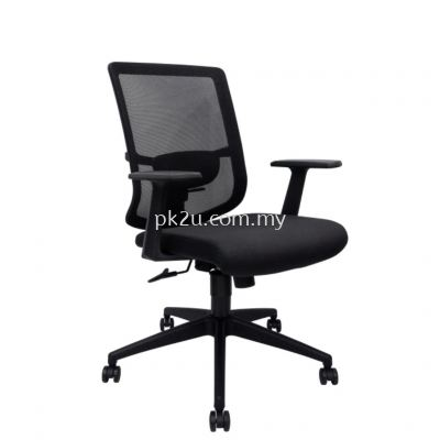 MESH 46 - Mid Back Mesh Chair (L1-BCMC-46-M)