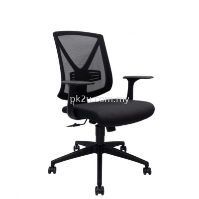 PK-BCMC-45-M-L1-Mesh 45 Medium Back Mesh Chair