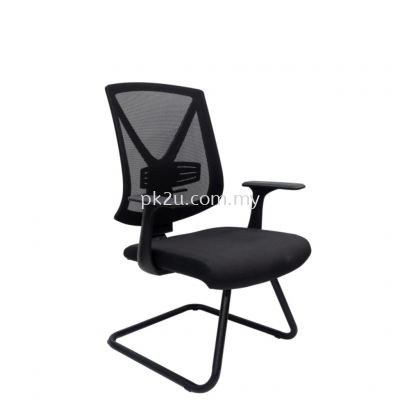 MESH 45 - Visitor Mesh Chair (L1-BCMC-45-V)