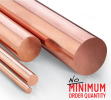 Copper Round Bar | Grade: C1100 (JIS H3140-1/2H) | K. Seng Seng Industries Sdn Bhd Copper