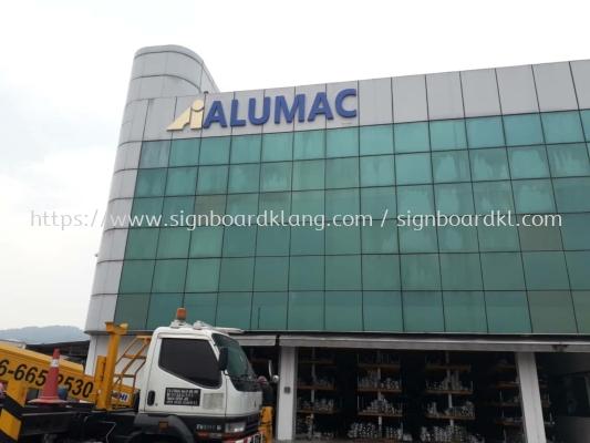 Alumac Eg 3D Box up lettering signage signboard at sugai buloh