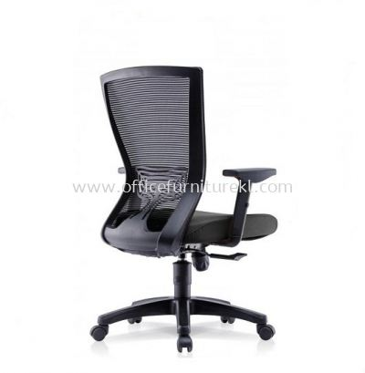 EGOMIC-2 MEDIUM BACK MESH CHAIR WITH ADJUSTABLE ARMREST