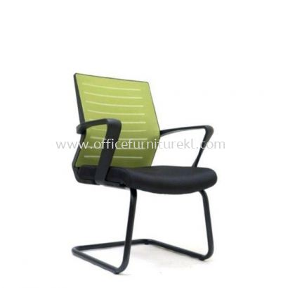 BURNLEY VISITOR MESH BACK CHAIR WITH EPOXY BLACK CANTILEVER BASE ASE 2737