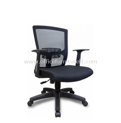 BUXTON LOW BACK MESH CHAIR C/W POLYPROPYLENE BASE ASE 6