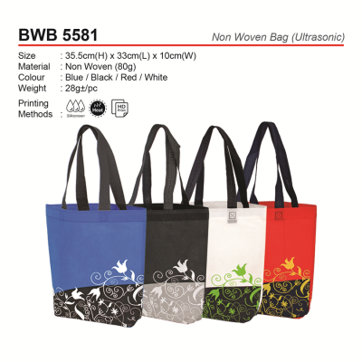 BWB5581 Non Woven Bag(Ultrasonic)