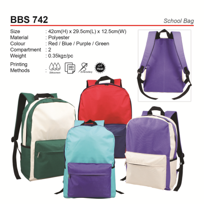 BBS742 School Bag