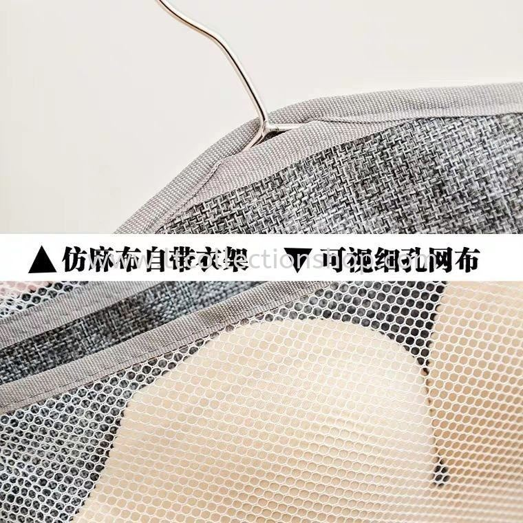 UNDERWEAR DOUBLE-SIDED STORAGE HANGING BAG PRE.ORDER 预购 071019~121019 PRE.ORDER 预购