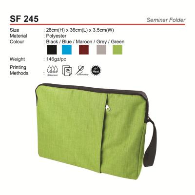 SF245  Seminar Bag