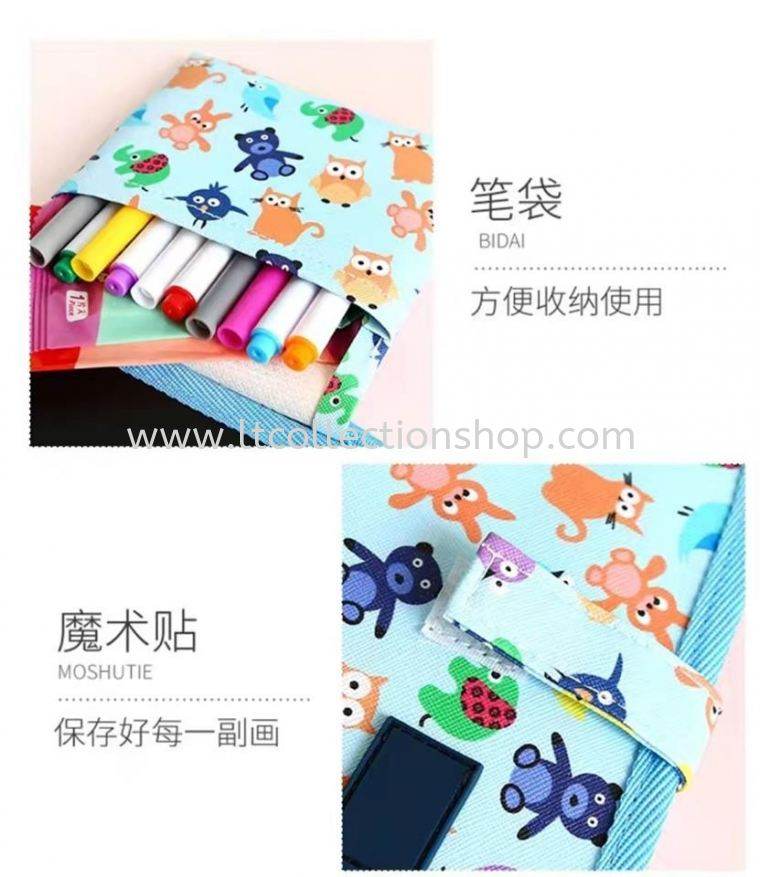 CHILDREN'S GRAFFITI WATER CHALK PICTURE BOOK PRE.ORDER 预购 071019~121019 PRE.ORDER 预购
