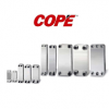 COPE BRAZED TYPE HEAT EXCHANGER  COPE BRAZED TYPE / SHELL IN TUBE HEAT EXCHANGER